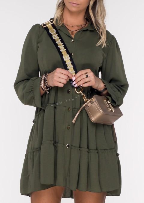 Sukienka CASTILLA PERFECT khaki