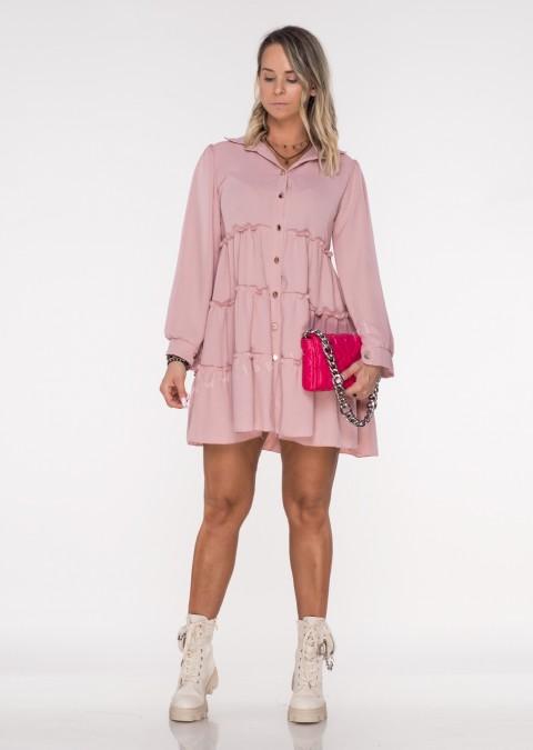Sukienka CASTILLA PERFECT różowa