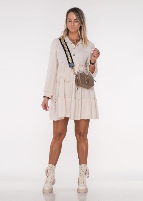 Sukienka CASTILLA PERFECT jasny beż