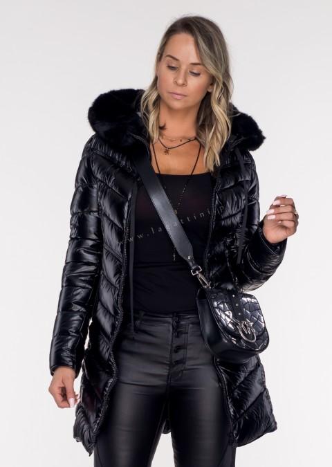 Pikowany płaszczyk LUXURY ARTIMINO black