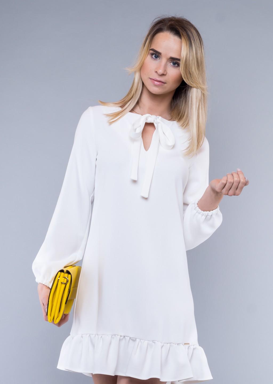 14406ce015 sukienka biała falbana · sukienka biała falbana ...