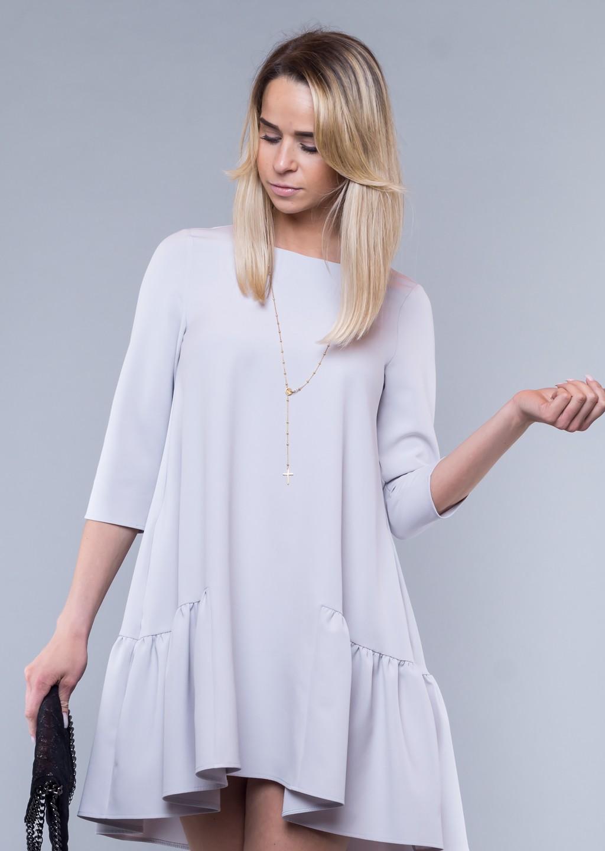 ce328f1298 sukienka szara falbana · sukienka szara falbana ...
